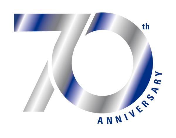 Seventieth Anniversary logo