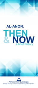 Al-Anon Then and Now pamphlet