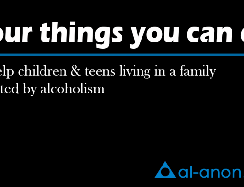 Four things you can do to help children & teens living in a family affected by alcoholism
