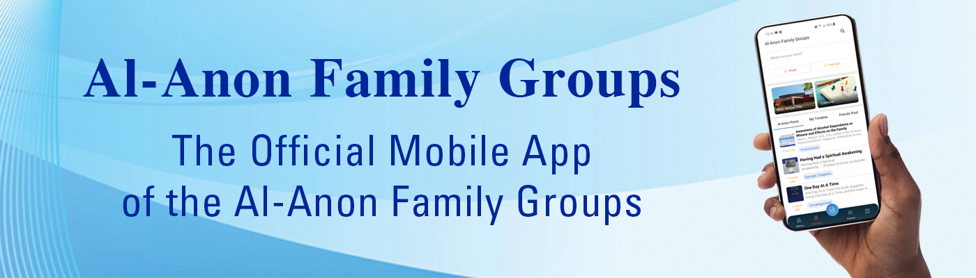 Al-Anon Family Groups, The Official Mobile App of the Al-Anon Family Groups