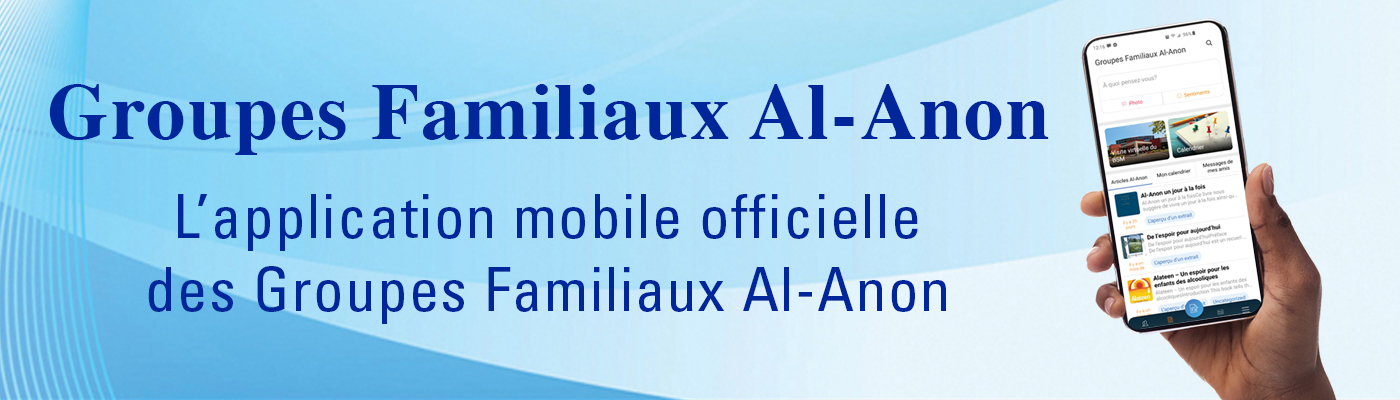 L'aplicación móvil oficial de los Grupos de Familia Al-Anon