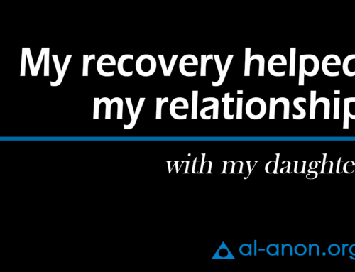 My recovery helped my relationship with my daughter