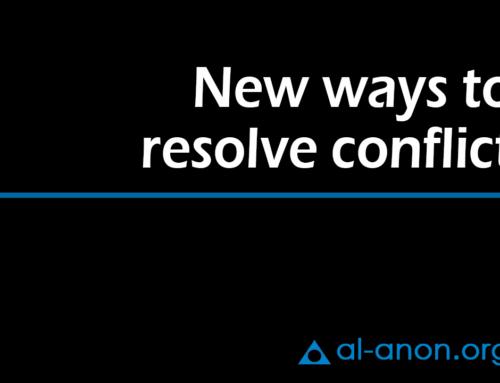 New ways to resolve conflict