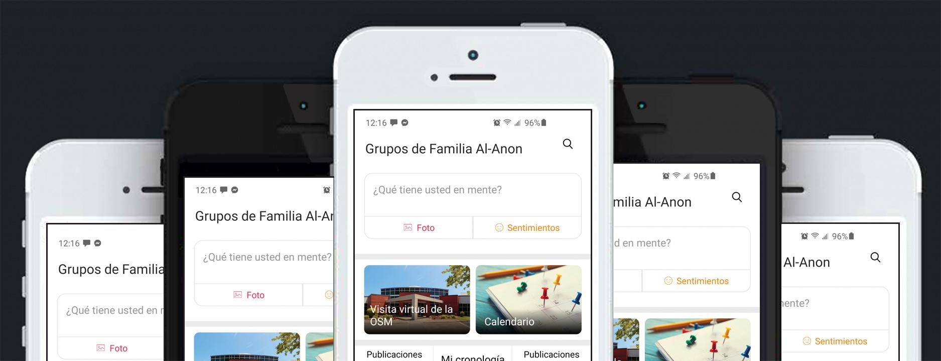 La aplicación móvil oficial de los Grupos de Familia Al-Anon