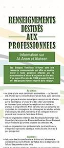 Renseignements destinés aux professionnels