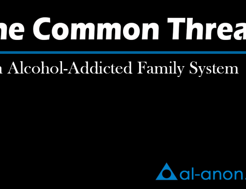 The Common Thread – An Alcohol-Addicted Family System