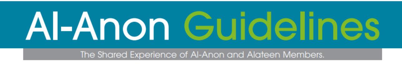 Al-Anon Guidelines