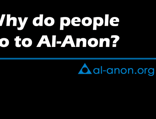 Why do people come to Al-Anon?